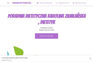 Poradnia dietetyczna Karolina Ziemlańska - Dietetyk Sanok