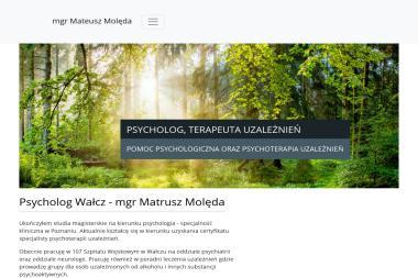 Psycholog Mgr Mateusz Molęda - Psycholog Wałcz