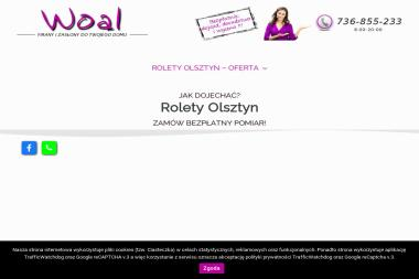 SALON ROLET WOAL - Żaluzje Pionowe Olsztyn