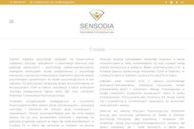 Sensodia - Psycholog Augustów