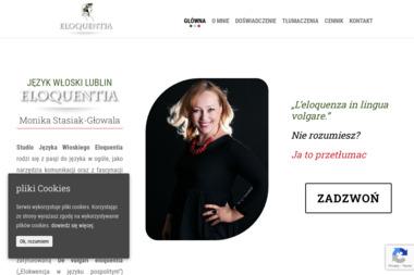 Studio Języka Włoskiego Eloquentia - Szkoła językowa Piaski