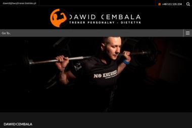 Trener Personalny Dawid Cembala - Trener personalny Bielsko-Biała