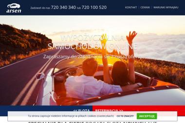 Wypożyczalnia samochodów ARSEN - Wypożyczalnia samochodów Bydgoszcz