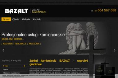 Bazalt - Kamieniarz Łódź