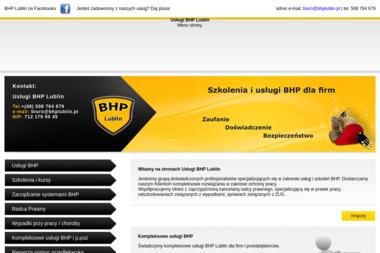 Usługi BHP Lublin - Szkolenia Dofinansowane Lublin