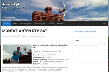 MONTAŻ ANTEN DAROSAT DARIUSZ PIGAN - Instalacje Jarosław