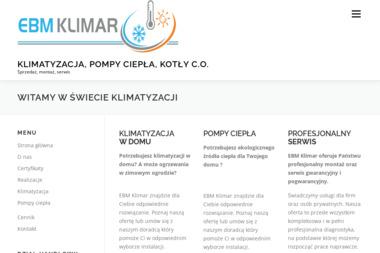 EBM KLIMAR Mariusz Ciesiński - Energia Odnawialna Zawiercie