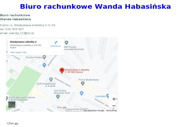 Biuro Rachunkowe Wanda Habasińska - Firma audytorska Kutno