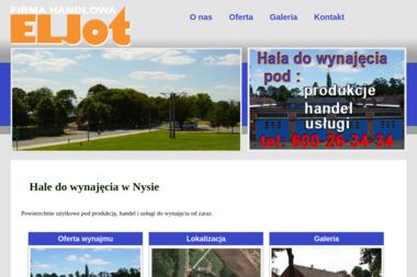 Firma Handlowa Eljot - Magazyny Do Wynajęcia Nysa
