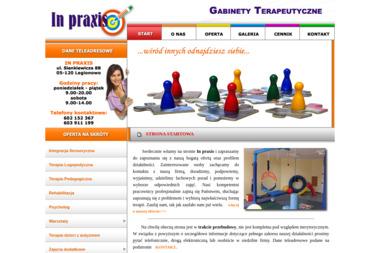 IN PRAXIS - Gabinety terapeutyczne - Psycholog Legionowo