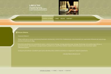 Law And Tax Kancelaria Adwokacka - Kancelaria Prawna Zabrze