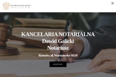 Kancelaria Notarialna Dawid Galicki - Pisma, wnioski, podania Rzeszów