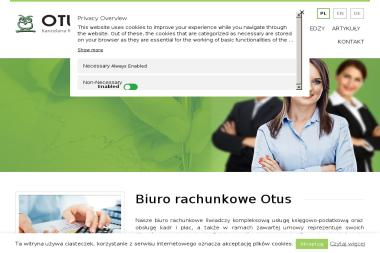 Kancelaria Rachunkowo-Podatkowa OTUS - Doradcy Podatkowi Online Szczecin