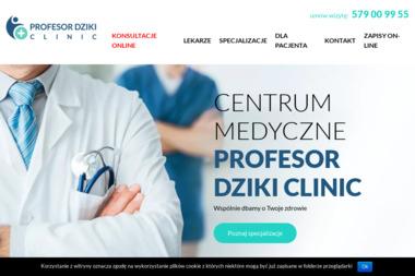 """Centrum medyczne """"Profesor Dziki Clinic"""" - Proktolog Łódź"""