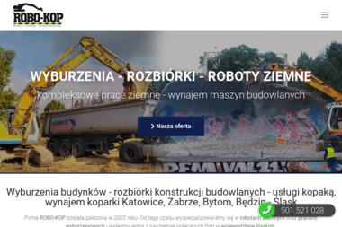 """P.W. """"ROBO-KOP"""" Mariusz Nowak - Kucie Betonu Będzin"""