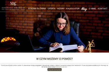 Kancelaria Adwokacka Adwokat Marta Rozwadowska - Kucka - Adwokat Starogard Gdański