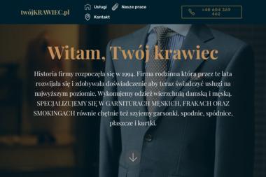 Twój Krawiec Jacek Szczodrowski - Firmy odzieżowe Starogard Gdański