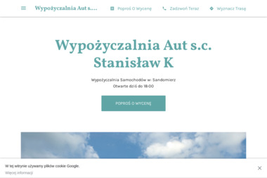 Wypożyczalnia Aut s.c.Paulina K - Wypożyczalnia samochodów Sandomierz