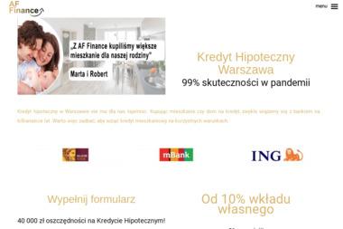 Kredyt hipoteczny Warszawa - Pożyczki bez BIK Warszawa