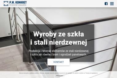 P.W. KONKRET - Balustrady nierdzewne Krostkowo