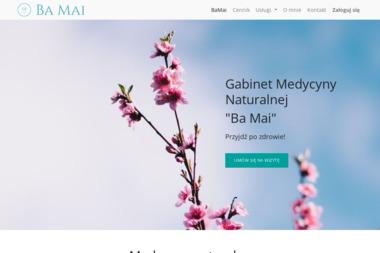 """Gabinet Medycyny Naturalnej """"Ba Mai"""" - Medycyna naturalna Dąbrowa Górnicza"""
