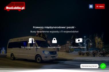 Busy Lublin do Belgii, Holandii i Niemiec - Firma transportowa Lublin