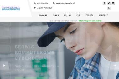 Cyberdelia - Naprawa komputerów Ludwin
