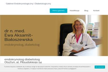 Diabetolog dr nauk medycznych Ewa Aksamit-Białoszewska - Diabetolog Olsztyn