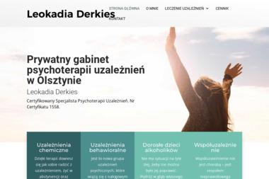 Prywatny Gabinet Psychoterapii Uzależnień Leokadia Derkiers - Terapia uzależnień Olsztyn
