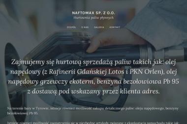 Naftomax - Hurtownia Oleju Opałowego Ostróda