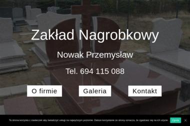 Zakład nagrobkowy Przemysław Nowak - Budowa Nagrobka Sieraków