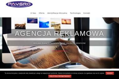 Agencja Reklamowa Paygro - Materiały Reklamowe Milicz