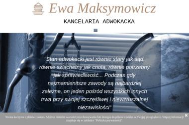 Rozwód Alimenty Kancelaria Adwokacka Adwokat Ewa Maksymowicz - Adwokat Piotrków Trybunalski