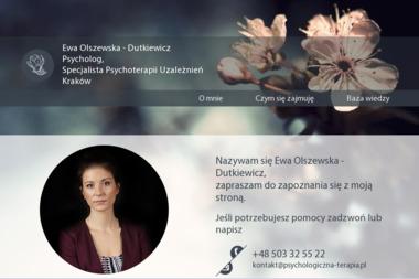 Psychologiczna Terapia Ewa Olszewska - Dutkiewicz - Leczenie Uzależnień Łódź