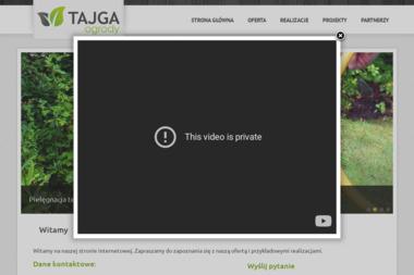 Tajga Ogrody - Aranżacja Ogrodu Dobieszowice