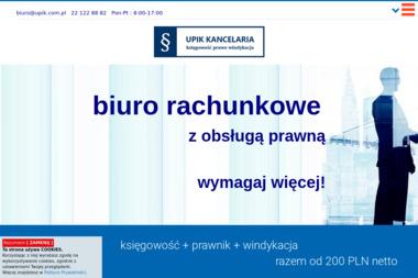 Biuro Rachunkowe UPIK KANCELARIA - Obsługa prawna firm Warszawa