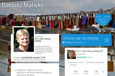 Specjalistyczny Gabinet Psychiatryczny - Terapia uzależnień Lublin