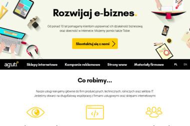 Agencja Aguti - Reklama internetowa Zielona Góra