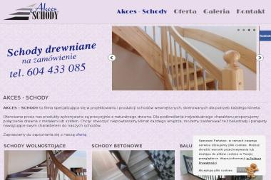 AKCES - SCHODY - Balustrady drewniane Koronowo