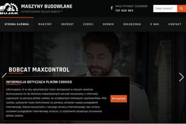 BUJAK MASZYNY - Maszyny budowlane Kamienica Królewska