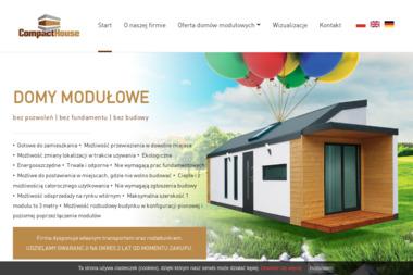 Compact House - Domy modułowe Choceń