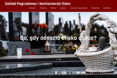 Zakład Pogrzebowy Eden Cieszyńscy - Kamieniarz Grudziądz
