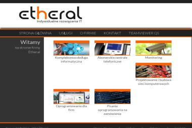 """PPHU """"Etheral"""" - Firma IT Pieszyce"""
