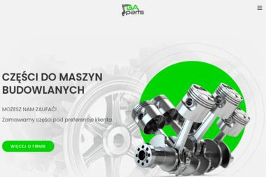 Gaparts - części do maszyn - Maszyny budowlane Olsztyn