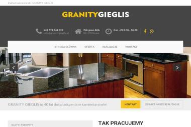 GRANITY GIEGLIS - Nagrobek Podwójny Nowe