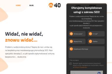 M40.pl Agencja Interaktywna - Agencja interaktywna Plewiska
