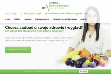 Poradnia Dietetyki Klinicznej - mgr Monika Swatek - Dietetyk Płazów