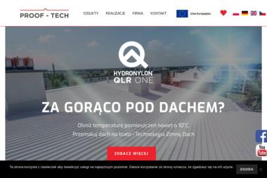 PROOF-TECH Sp. z o.o. - Krycie dachów Gliwice