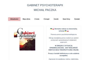 Gabinet Psychoterapii Michał Paczka - Terapia uzależnień Gliwice