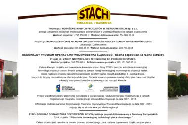 Stach sp. z o.o. - Cukiernia Dobieszowice